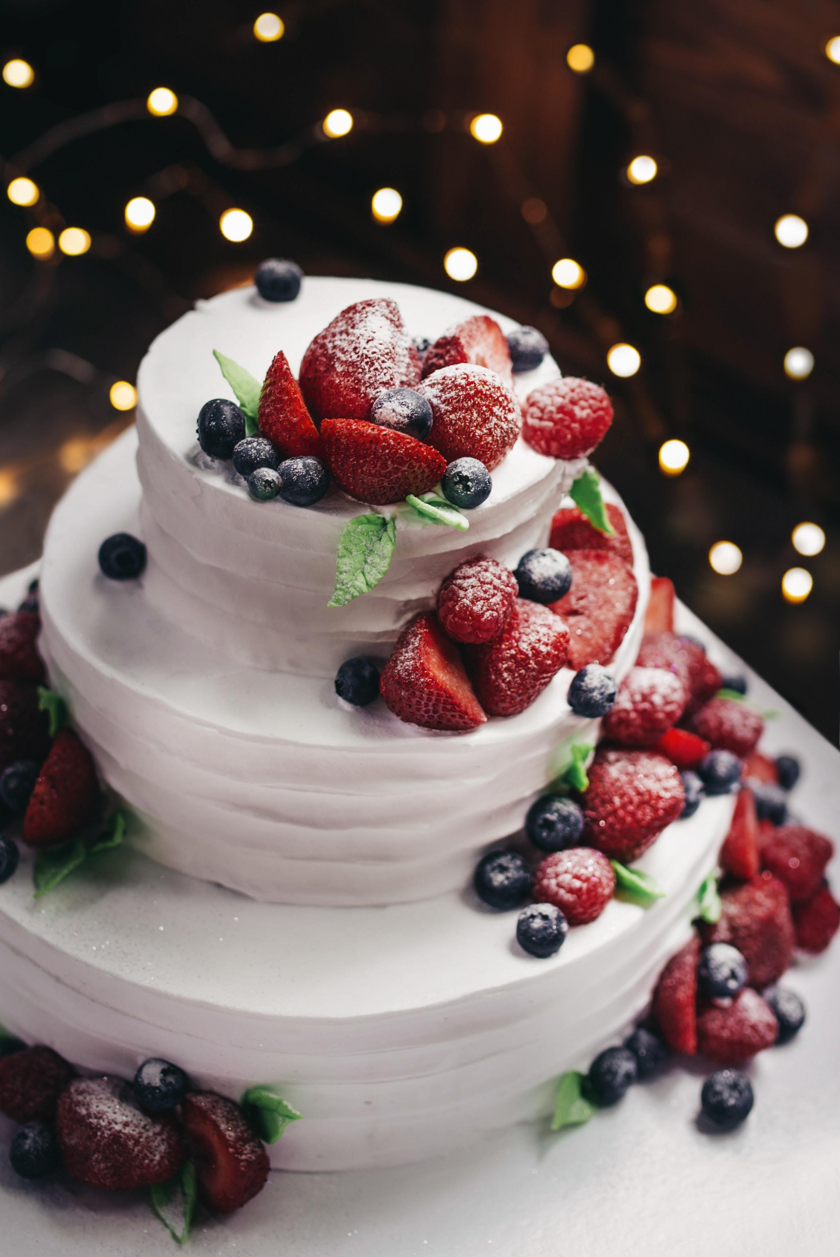 tort weselny ślubne inspiracje