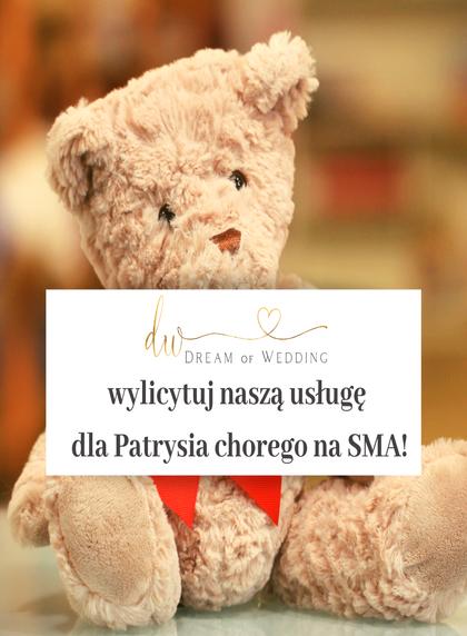 wylicytuj naszą usługę dla Patrysia chorego na SMA