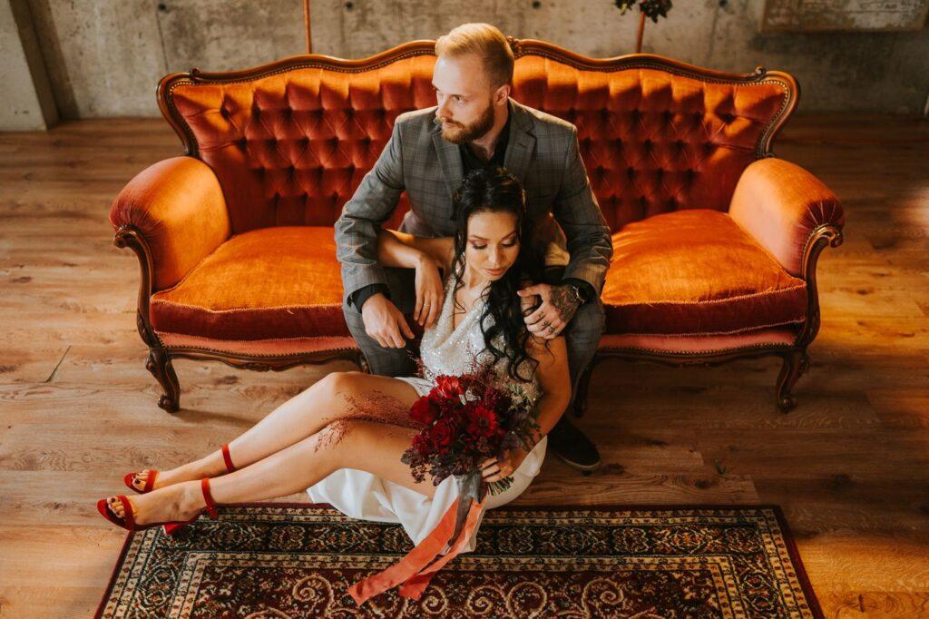 Ślub w stylu Dark Glamour